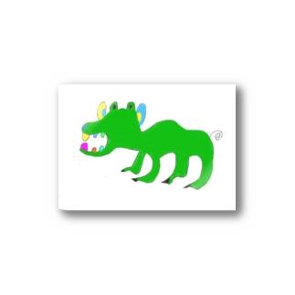 名もなきカバ Stickers