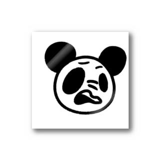 烏龍茶屋の悪態PANDA Stickers