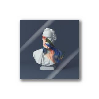 paint on Gypsum statue [12] Stickers