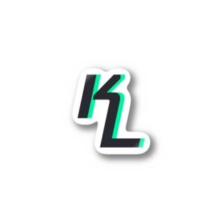 KLNetworkロゴグッズ Stickers