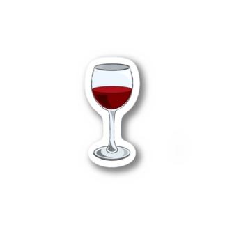 ワイングラス Stickers
