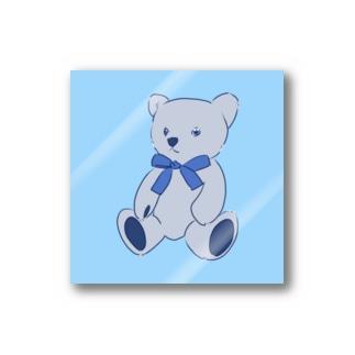 blue_bear_GL Stickers