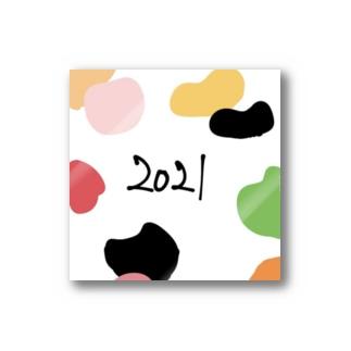 ハートフルな2021 Stickers