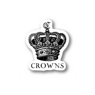 CROWNSステッカー Stickers