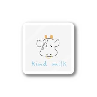 優しい牛乳作ってくれるくん Stickers
