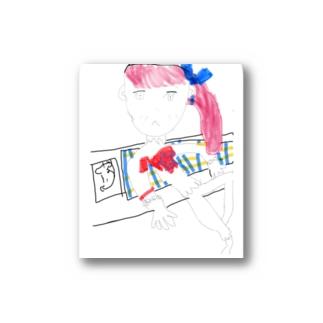 かわいい女の子 Stickers