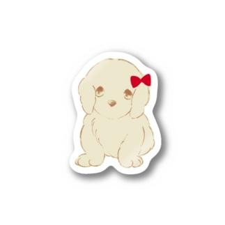 子犬の🎀ゴールデンレトリバー Stickers