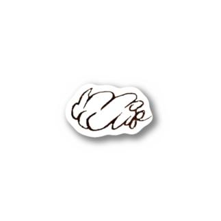 mofumofu オリジナルロゴグッズ Stickers