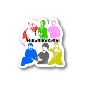 ひかりこけし2021 Stickers