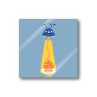 ナポリタン泥棒(blue) Sticker