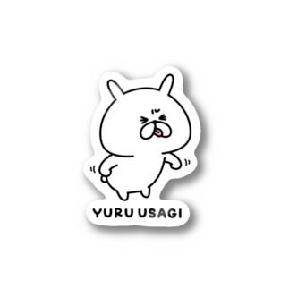 ゆるうさぎ べー Stickers