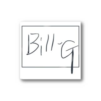 Bill-G オリジナルハット Stickers