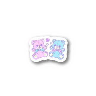 キャンディハーツくまさん Stickers