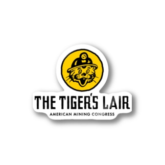 THE TIGER'S LAIR Sticker