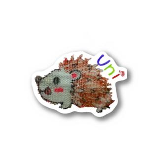 ガーゼuni Stickers