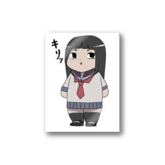キメ顔れいかちゃん Stickers
