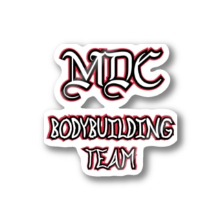 MDC BODYBUILDING TEAM Stickers