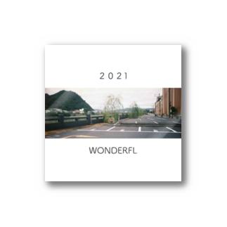 2021の願い Stickers