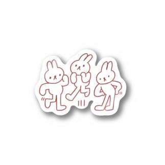 ウサトリオ Stickers