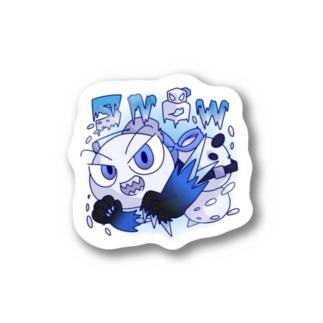 SNOW ATTACK Stickers