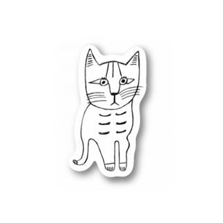 ねこの様子のねこの様子 Stickers