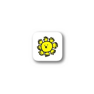 テノヒライドンステッカー Stickers