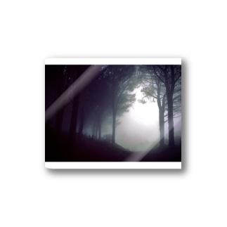 London fog Sticker