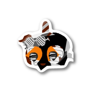 FACE THE TRUTH (ORANGE BROWN) Stickers