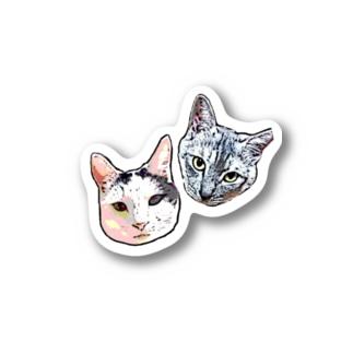 マッスルパン工房(リリーとミナト) Stickers