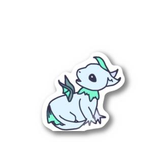 【ちんぷんかんぷんなドラゴン】 Stickers