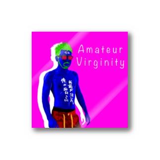 Amateur Virginity ステッカー Stickers