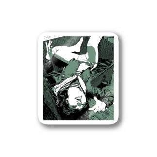 女学生褌狂い Stickers