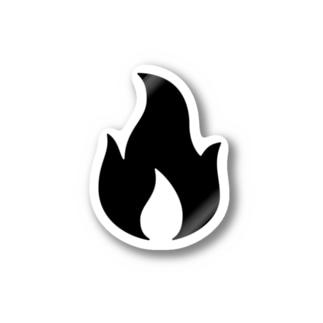 燃えるゴミ ステッカー