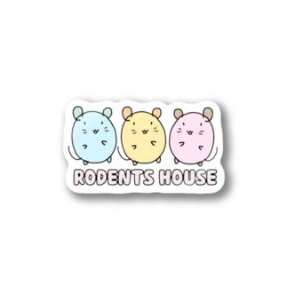 RODENTS HOUSE  Stickers