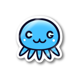 クラゲちゃんグッズ(公式)のクラゲちゃん Stickers