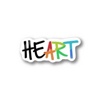 "HE""ART"" Stickers"