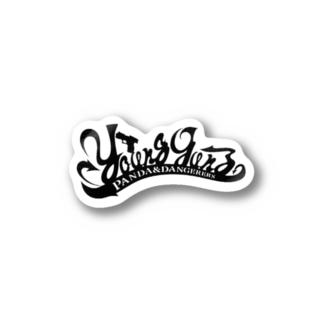 YOUNG GUNZ YOKOHAMA Stickers