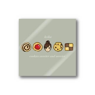 クッキーガール Stickers
