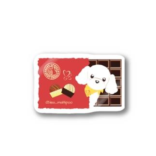 LEAちゃん(チョコ) Stickers