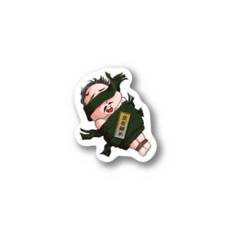 昆布締めオジサン Stickers