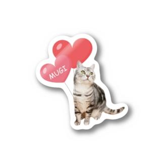 Mugi&Leon Stickers