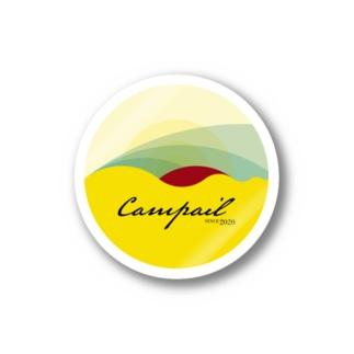 campailのCampail-Black Stickers