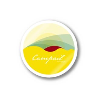 campailのCampail-White Stickers