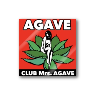 CLUB Mrs.AGAVE Stickers