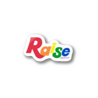 Raiseオリジナルグッズ Stickers