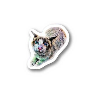 にゃじろう(石) Sticker
