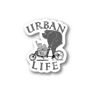 """URBAN LIFE"" #1 Sticker"