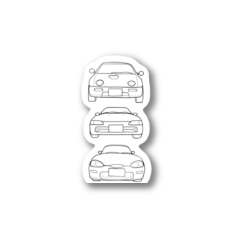 A.B.C  K-car Stickers