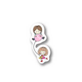 CHAMA×風船 Sticker