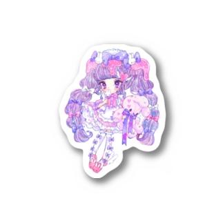 うさメイドちゃんステッカー Stickers